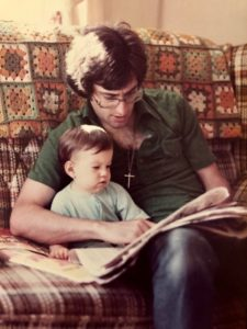 Learning from the Best Me and my Dad circa 1980