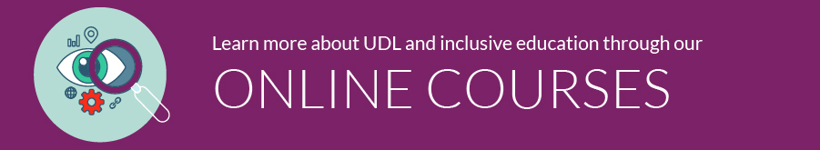 Online Courses on UDL and Inclusive Education