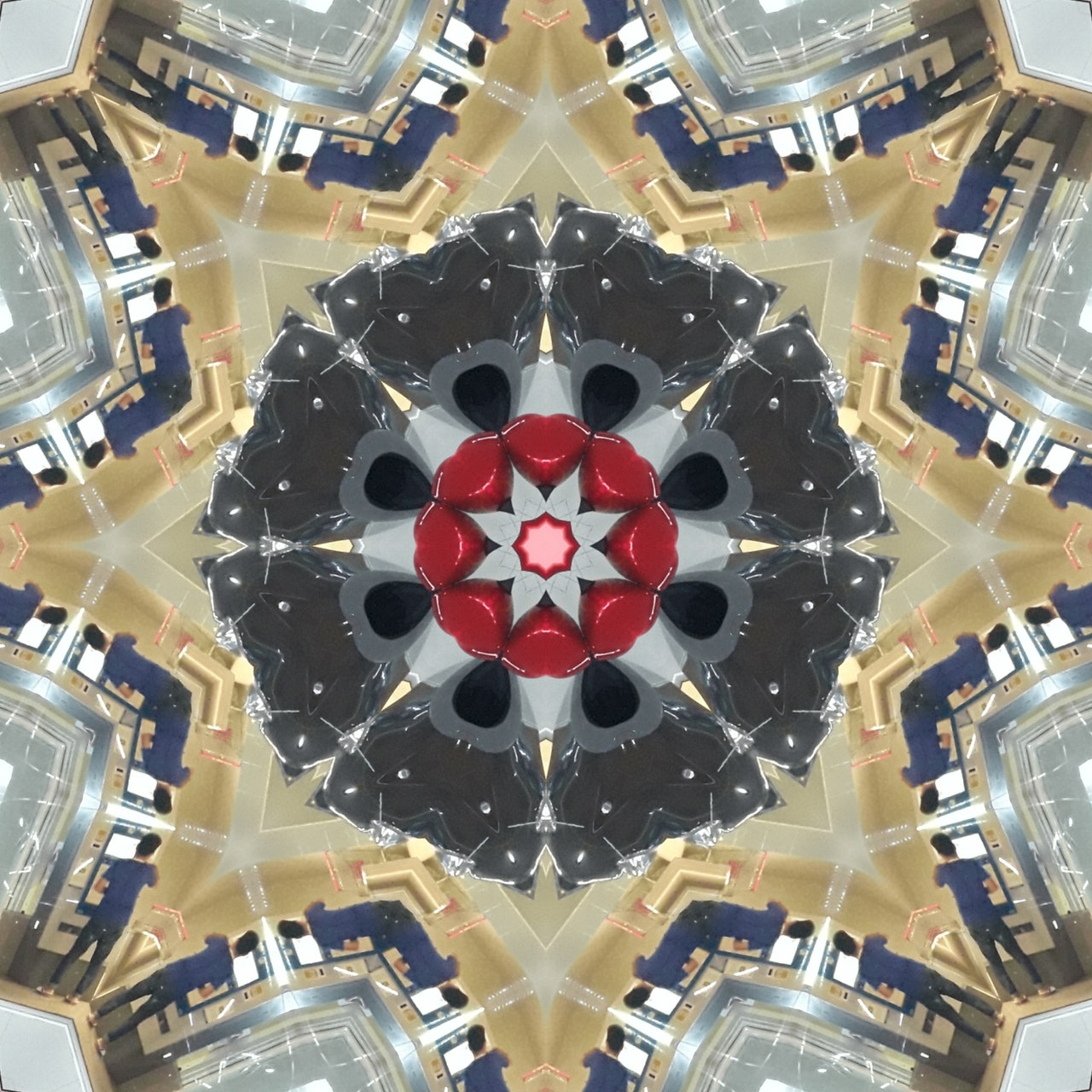 an image of a Kaleidoscope - analogy for brain-based design in education