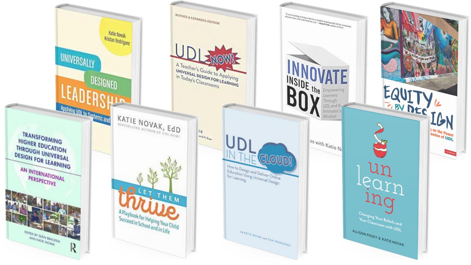 Katie Novak book covers
